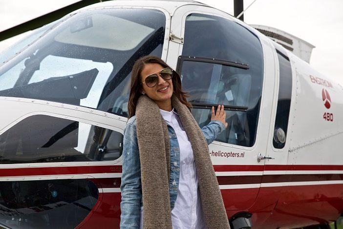 Hoe ziejij Delft campagne — helikoptervlucht